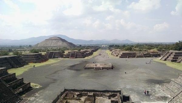La ciudad prehispánica de Teotihuacán